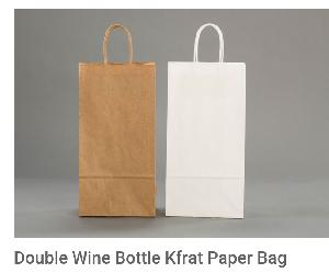 Paper Wine Bottle Bags