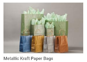 Metallic Paper Bags