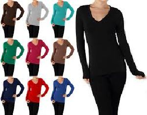 Ladies Full Sleeve T-Shirts