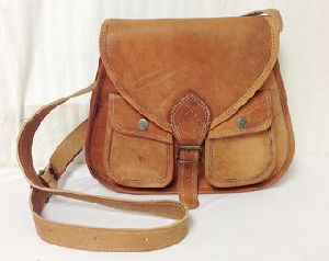 Ladies Leather Satchel Bags