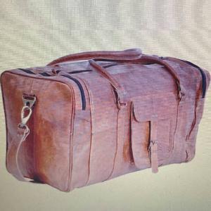 Leather Duffle Bag 01