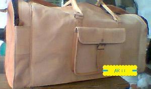 Leather Duffle Bag 04