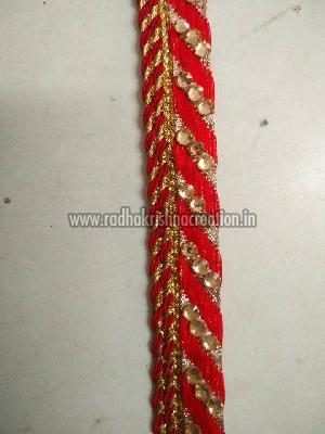 Diamond Work Brocade Stitch Jalar Laces