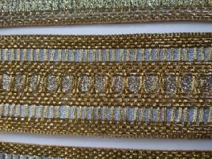 Glitter Golden Saree Laces 05