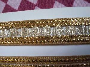 Glitter Golden Saree Laces 06