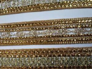 Glitter Golden Saree Laces 07