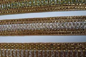 Glitter Golden Saree Laces 08