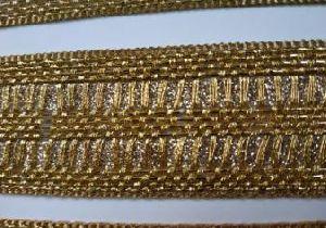 Glitter Golden Saree Laces 09