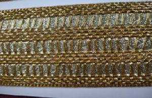 Glitter Golden Saree Laces 10
