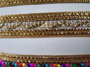 Glitter Golden Saree Laces 11