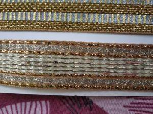 Glitter Golden Saree Laces 01