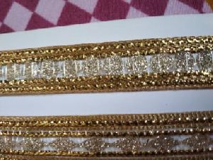 Glitter Golden Suit Laces 01