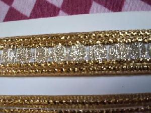 Glitter Golden Suit Laces 02