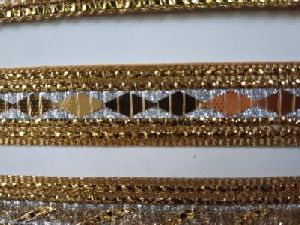 Glitter Golden Suit Laces 06