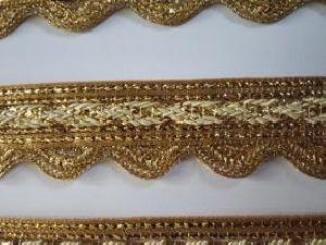 Golden Border Saree Laces 03