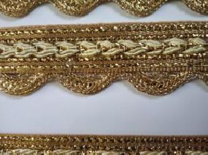 Golden Border Saree Laces 04