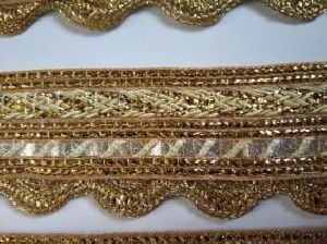 Golden Border Saree Laces 05