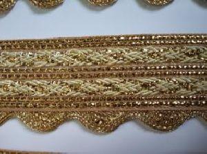 Golden Border Saree Laces 06