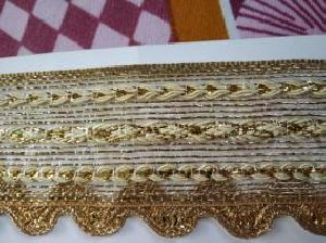 Golden Border Saree Laces 07