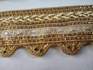 Golden Border Saree Laces 08