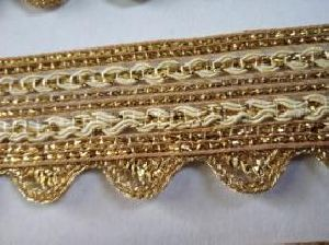 Golden Border Saree Laces 09