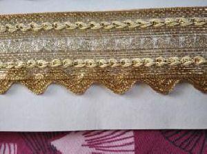 Golden Border Saree Laces 12