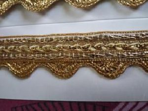 Golden Border Saree Laces 13
