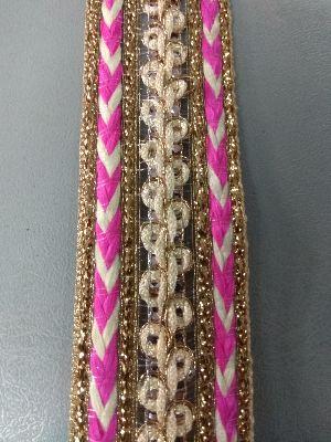 Golden China Saree Laces 07
