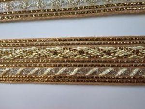 Golden China Saree Laces 09