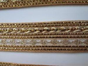 Golden China Saree Laces 10