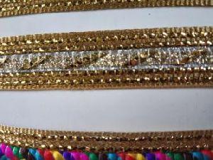 Golden China Saree Laces 11