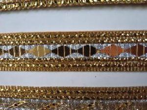 Golden China Saree Laces 12