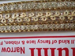 Golden China Saree Laces 16
