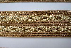 Golden Saree Lace 10