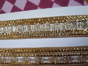 Glitter Golden Suit Laces