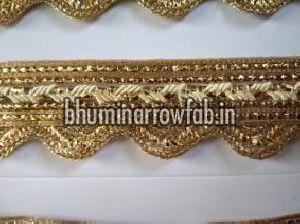 Golden Border Saree Laces