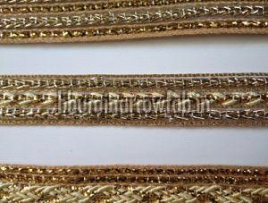 Golden Saree Laces