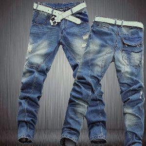 Branded Mens Lycra Jeans