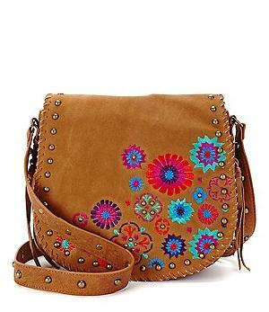 Tan Thread Work Sling Bag