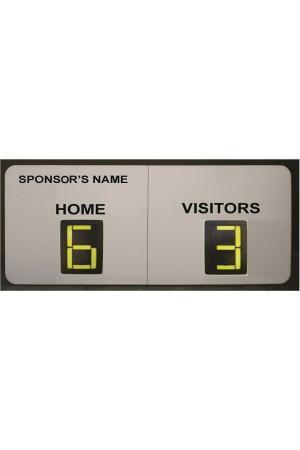 2 Digit Soccer Self Supporting Scoreboard