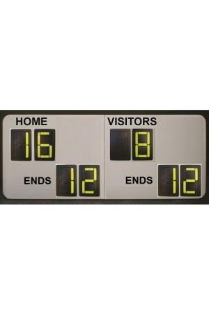 8 Digit Bowl Self Supporting Scoreboard