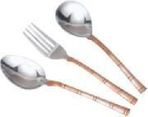 KW-19 Copper Cutlery Set