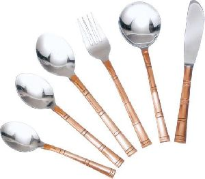 KW-20 Copper Cutlery Set