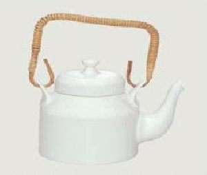 White Bone China Kettle