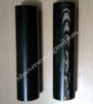 Ox Horn Rolls Black With White Streaks