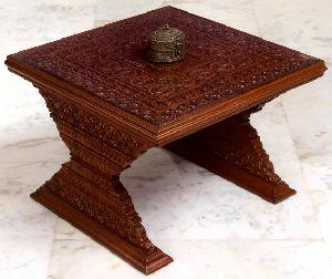 Wooden Centre Table 01
