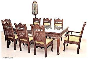 Wooden Dining Set 01