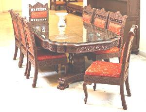 Wooden Dining Set 02