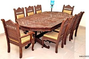 Wooden Dining Set 03