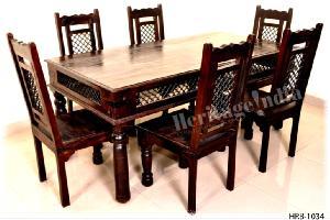 Wooden Dining Set 04